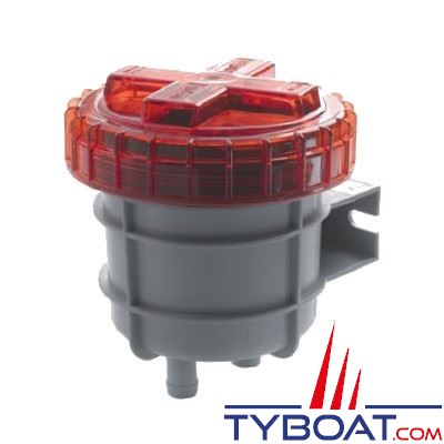 Filtre anti-odeur de gazole Vetus NSF16D pour tuyau Ø 16 mm