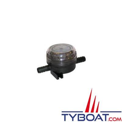 Flojet - Filtre pour protection de pompe sur circuit d'eau - grosse maille raccord 1/2