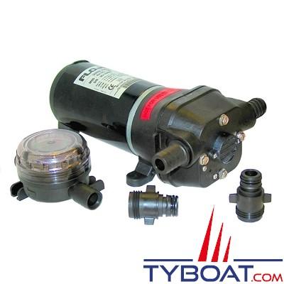 Flojet - Pompe de transfert Quad II - R4125504A - 19 Litres/minute - 24 Volts