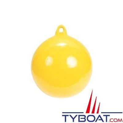 Majoni - Flotteur plastique Ø 350 mm jaune 1 anneau