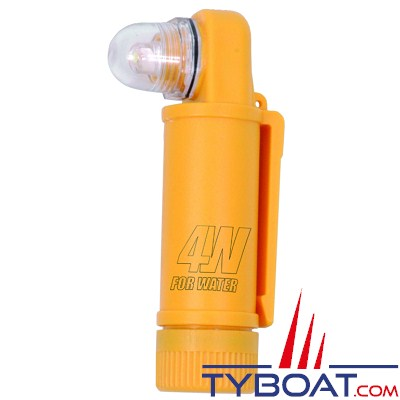 FOR WATER - Lampe flash manuel étanche.