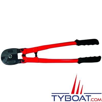 Cisaille à hauban pour câble jusqu'à Ø 14 mm longueur 600 mm