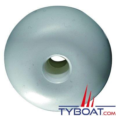 Flotteurs pour balisage Ø75mm - Ø du trou 13mm - blanc - par 10
