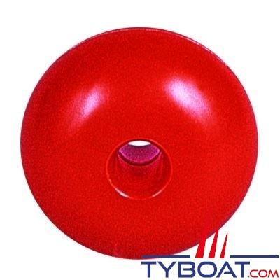 Flotteurs pour balisage Ø75mm - Ø du trou 13mm - orange - lot de 10 pièces