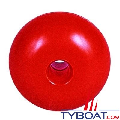 Flotteurs pour balisage Ø75mm - Ø du trou 13mm - orange - par 10