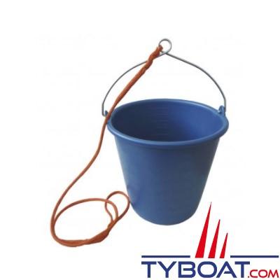 Seau 10 litres avec oeil et bout 1,5 mètres