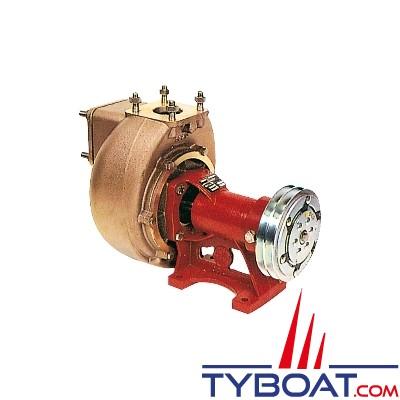 Forani & Pecorari - Pompe centrifuge auto-amorçante embrayage électromagnétique - arbre nu Ø 22 mm - poulie Ø 145 - rotation à droite - AM40D5