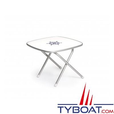 Forma - Table pliante - Cadre aluminium - 61 x 61 x 49 centimètres