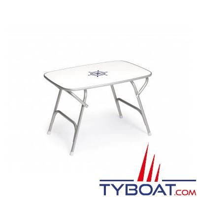 Forma - Table pliante - Cadre aluminium - 60 x 88 x 61 centimètres