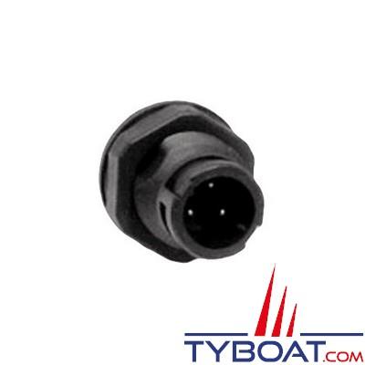 FURUNO - Embase 3 broches pour GP7000/FCV582L/600L/M1621/22/23/M1712