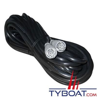 Furuno - Câble DATA NMEA0183 6 PF vers 6 PF longueur 10 mètres (MJ-A6SPF0007)