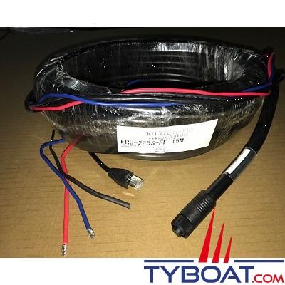 FURUNO - Câble radar Ethernet/alimentation - 30m - FRU-2P5S-FF-30M-A