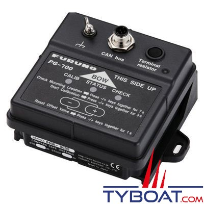 Furuno - Compas fluxgate mini gyro 2 axes PG700 - NMEA2000
