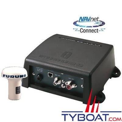 Furuno - FA50 - Émetteur récepteur AIS classe B avec GPS - 12/24 Volts