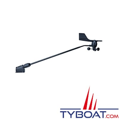 FURUNO - Girouette anémomètre FI5001L avec bras de 720mm + crochet de verrouillage sur l'attache de mât - SANS CABLE