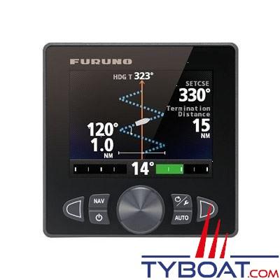 Furuno - (PK1)Pack Pilote automatique Navpilot 711C NMEA2000 indicateur FAP7011C couleur + calculateur FAP7002 + capteur d'angle de barre FAP6112 - sans compas