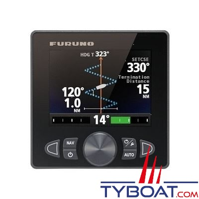 Furuno - (PK3) Pilote automatique Navpilot 711C NMEA2000 indicateur FAP7011C couleur + calculateur FAP7002 + capteur d'angle de barre FAP6112 + compas PG700