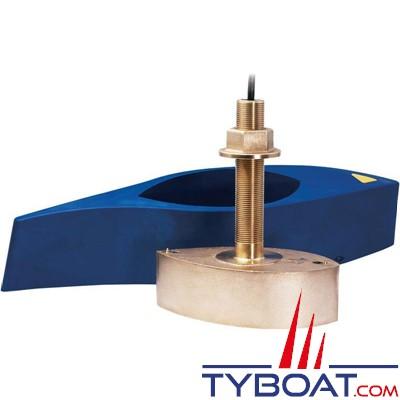 FURUNO - Sonde traversante bronze B260 DT 1Kw 50/200 KHz - profondeur et température - avec fairing