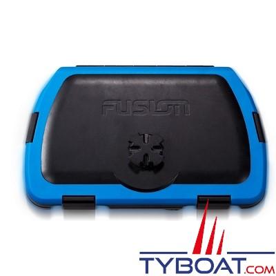 Fusion - Active safe -Caisson Stéréo active dock bleu