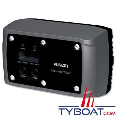 Fusion - Amplificateur hifi marine MS-AM702  2 x 70 Watts 2 voies Etanche