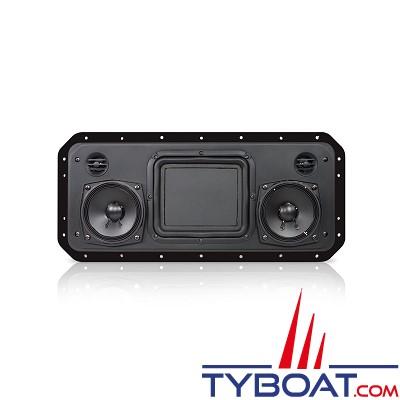 Fusion - Enceinte SoundPanel FS402B à faible profondeur - 200 Watts - noir