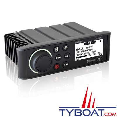 Fusion - Hifi marine RA70N - AM/FM/Aux/Bluetooth/USB/NMEA2000 - 200 Watts RMS