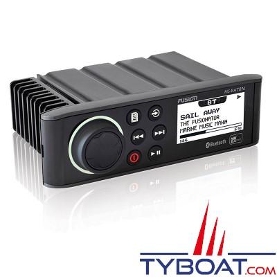 FUSION- Hifi marine RA70N - AM/FM/Aux/Bluetooth/USB/NMEA2000 - 200 Watts RMS