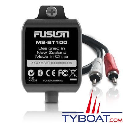 Fusion - Kit Bluetooth MS-BT100 12 Volts sorties RCA - IP65