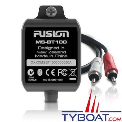 Fusion - Kit Bluetooth MS-BT100 étanche 12V sorties RCA
