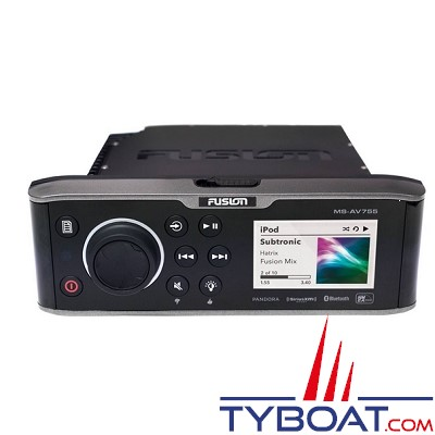 Fusion - lecteur DVD 755 series AM/FM/DVD Player /BT/USB/NMEA/Ethernet - 280 W