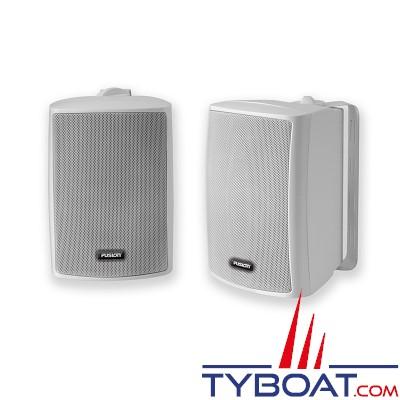 fusion ms os420 enceintes hifi 100 watts 4 ohms ip65 blanc la paire fusion fus ms. Black Bedroom Furniture Sets. Home Design Ideas