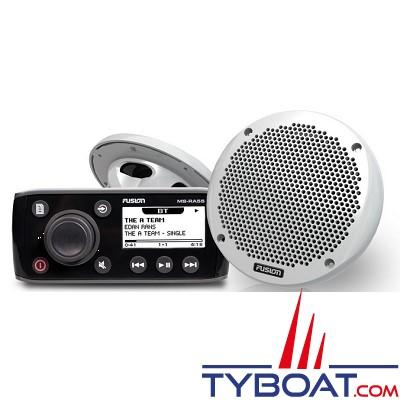 Fusion - Pack RA55 + EL602 (2) - Bluetooth intégré - Câble et kit de montage - MS-RA55KTS