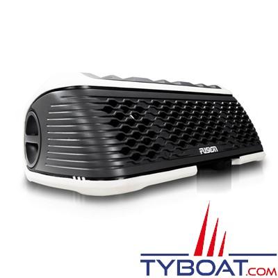 Fusion - Stéréo Active marine portative étanche et flottante - AM/FM/USB/BLUETOOTH - IPX7 - Blanche