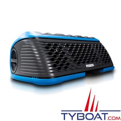 FUSION- Stéréo Active marine portative étanche et flottante - AM/FM/USB/BLUETOOTH - IPX7 - Bleu
