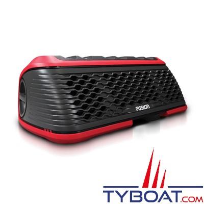 FUSION - Stéréo Active marine portative étanche et flottante - AM/FM/USB/BLUETOOTH - IPX7 - Rouge