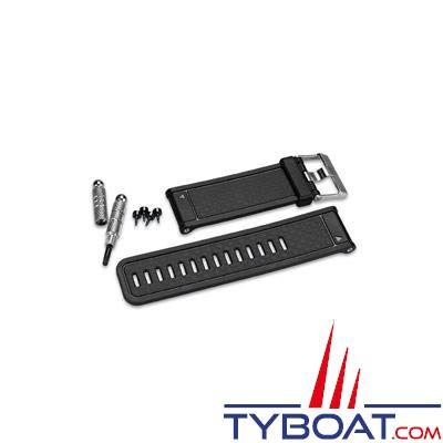 GARMIN - Bracelet de remplacement noir pour montre GPS Fenix,Tactix et Quatix