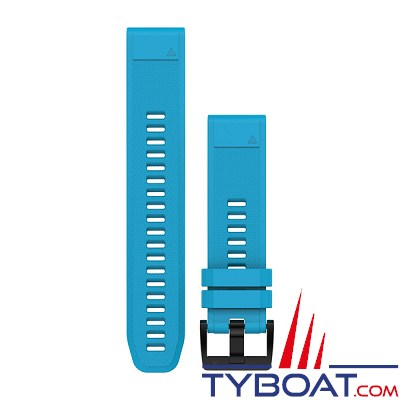 Garmin - Bracelet QuickFit™ - 22mm - Silicone bleu