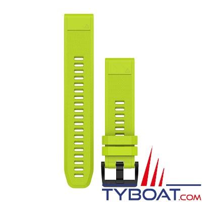 Garmin - Bracelet QuickFit™ - 22mm - Silicone jaune