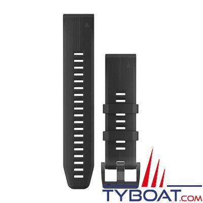 Garmin - Bracelet QuickFit™ - 22mm - Silicone noir