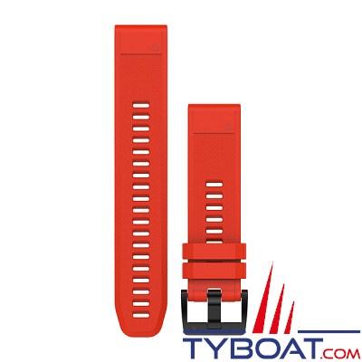 Garmin - Bracelets QuickFit™ - 22mm - Silicone rouge
