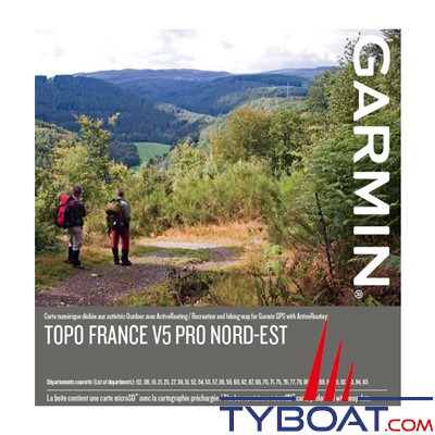 Garmin - Carte microSD™/SD™ - TOPO France V5 PRO - Nord-ouest