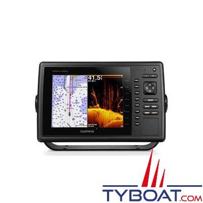 Garmin - Écran multifonctions GPSMAP  820xs avec sondeur intégré compatible sonde 50/77/200kHz / DownVü / CHIRP - livré sans sonde