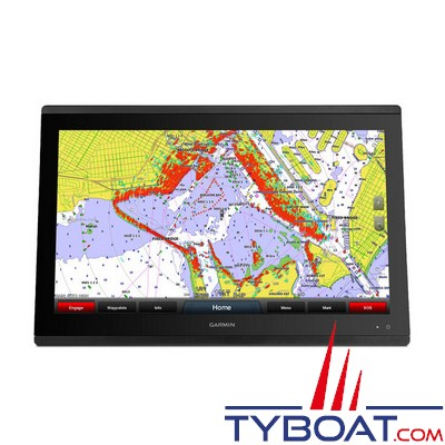 GARMIN - lecteur de cartes et combiné GPS - GPSMAP 8422 - Ecran 22