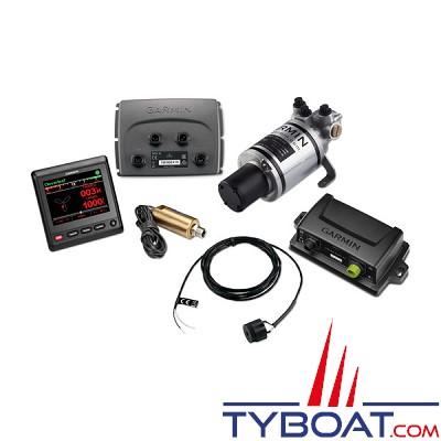 Garmin - Pack Pilote automatique Reactor™ 40 Compact pour direction hydrauliques avec GHC™ 20 et Shadow Drive