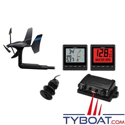 Garmin - Pack Voile sans fil 52 (GNX™ Wind + GMI 20 + gWind Wireless 2 + DST 800)