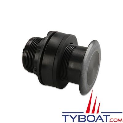 GARMIN - Sonde traversante plastique P319 - 77/200kHz - 600W - Profondeur/ Température - Connecteur GARMIN 8 broches
