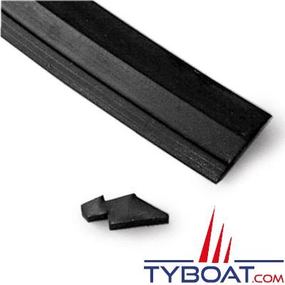 GEBO - 089.60.06.11 - Joint caoutchouc à lèvre 25mm R611 pour hublots série Econoline - au mètre