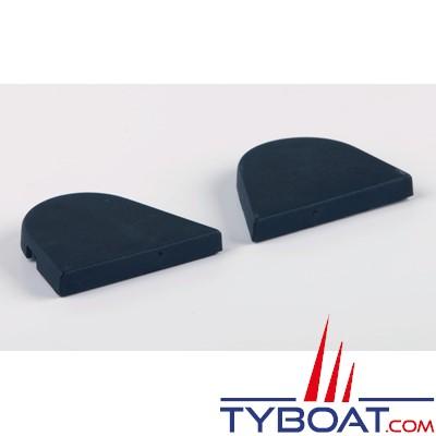 Gebo - Caches latéraux pour charnières 15mm gauche et droite