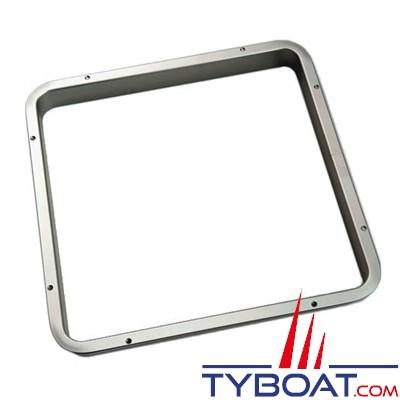 Gebo - cadre intérieur aluminium pour panneau de pont avec épaulement 500x500