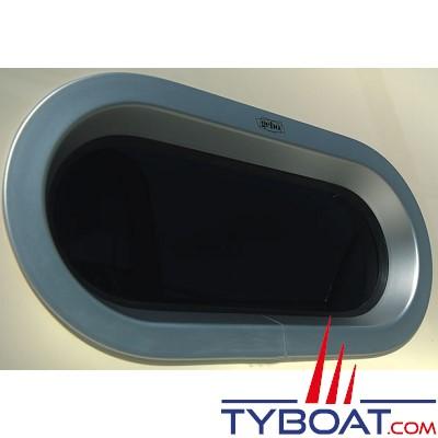 Gebo - Hublot standard circulaire fixe 375x175